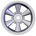 IMXC7058 - IMEX RODA Hawk Chrome Rear 2.8 Jato (2)