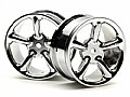 HPI3737 - HPI RODA Type R5 Wheel 24mm Chrome