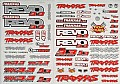 TRAX5313 - Traxxas Decal Sheet Revo 3.3