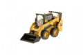 DM85525 - Diecast master miniatura em metal Caterpillar Cat 242D Compact Skid Steer Loader 1:50 (85525)