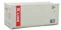 "WAL949-8065 - Walthers CONTAINER 20"" CORRUGATED HO KLINE"