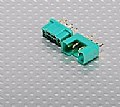 TURN9638 - MPX Connector Macho/femea