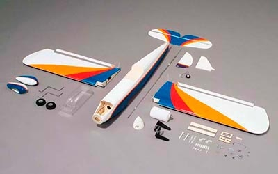 GREAT PLANES KIT ARF Super Sportster 40/46 MkII Env : 1 410 mm - Big