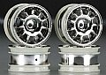 TAMR84157 - Tamiya RODA M-Chassis 11-Spoke Racing Wheels Chrome