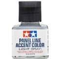 TAMR87189 - Tamiya Panel Line Accent Color Light Gray