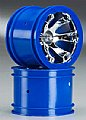 TRAX7273 - Traxxas RODAS Geode 2.2 Wheel Blue Chrome 1/16 Summit (2)