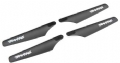 TRAX6316 - Traxxas Rotor Blade Set Upper/Lower Black DR-1 (4)