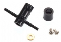 TRAX6344 - Traxxas Rotor Head Lower/Screws DR-1 (2)