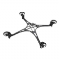 TRAX6623 - Traxxas Main Frame/Screws Black Alias