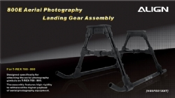 ALIGN 800E Aerial Photography Landing Gear Assembly